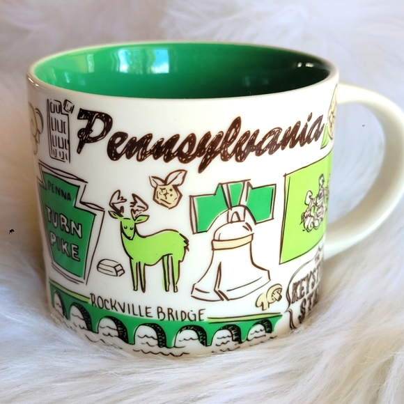 PENNSYLVANIA Starbucks Been There Series 14oz Mug